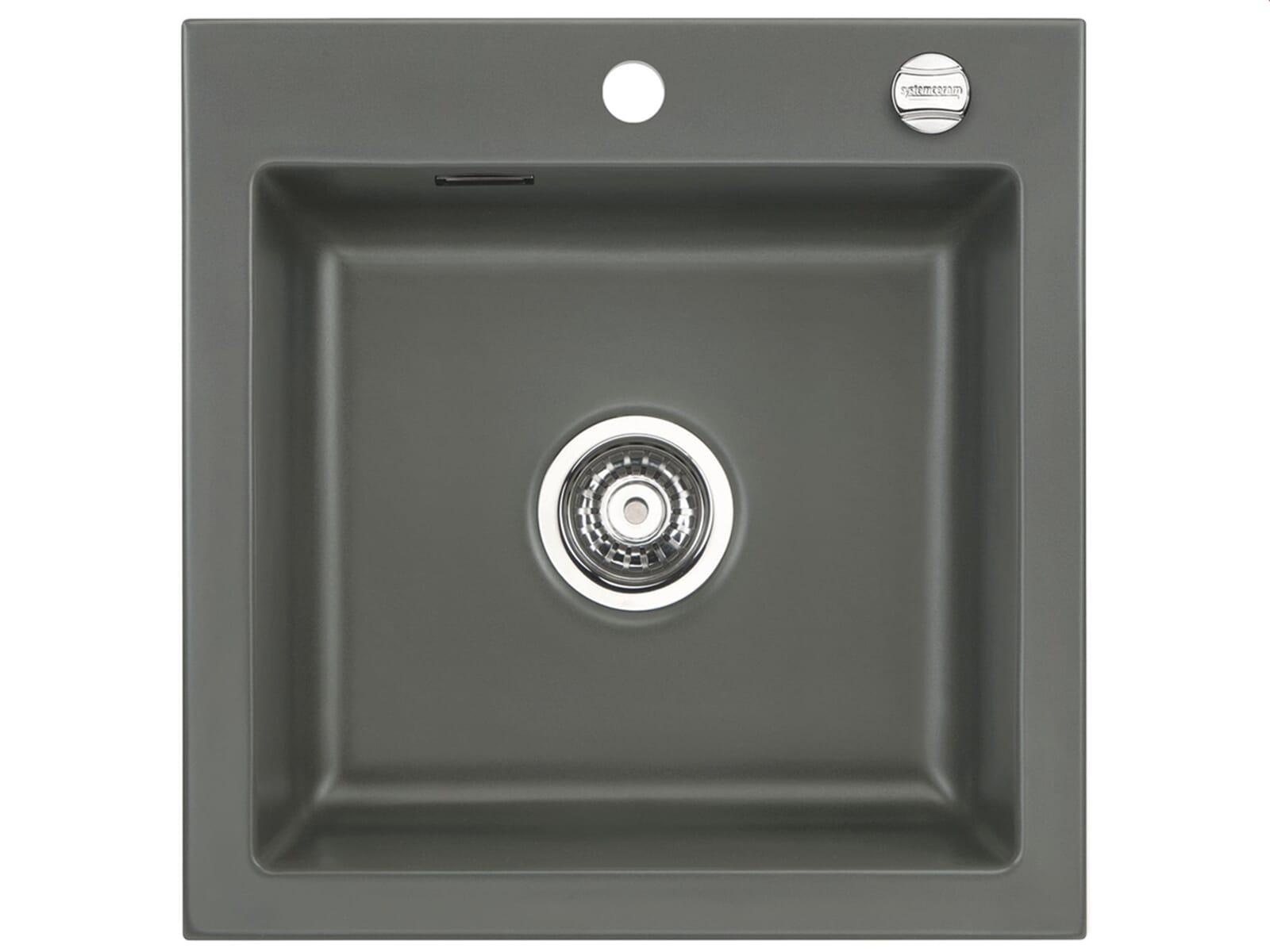 Systemceram Mera 51 Lava Keramikspüle Excenterbetätigung