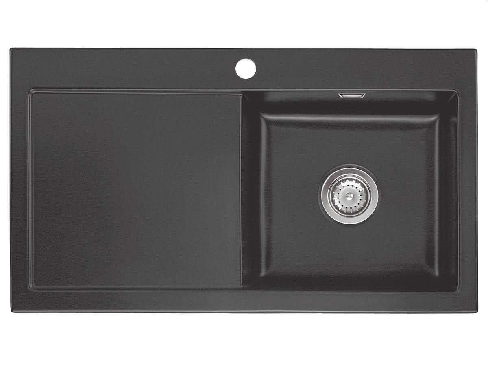 systemceram mera 90 schiefer keramiksp le handbet tigung. Black Bedroom Furniture Sets. Home Design Ideas