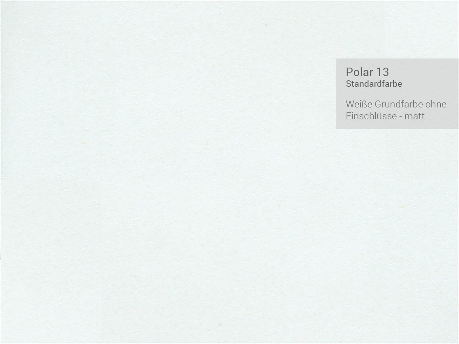Systemceram Genea 87 Polar Keramik-Spüle Excenterbetätigung