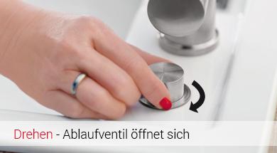 Systemceram Premium-Excenterbetätigung