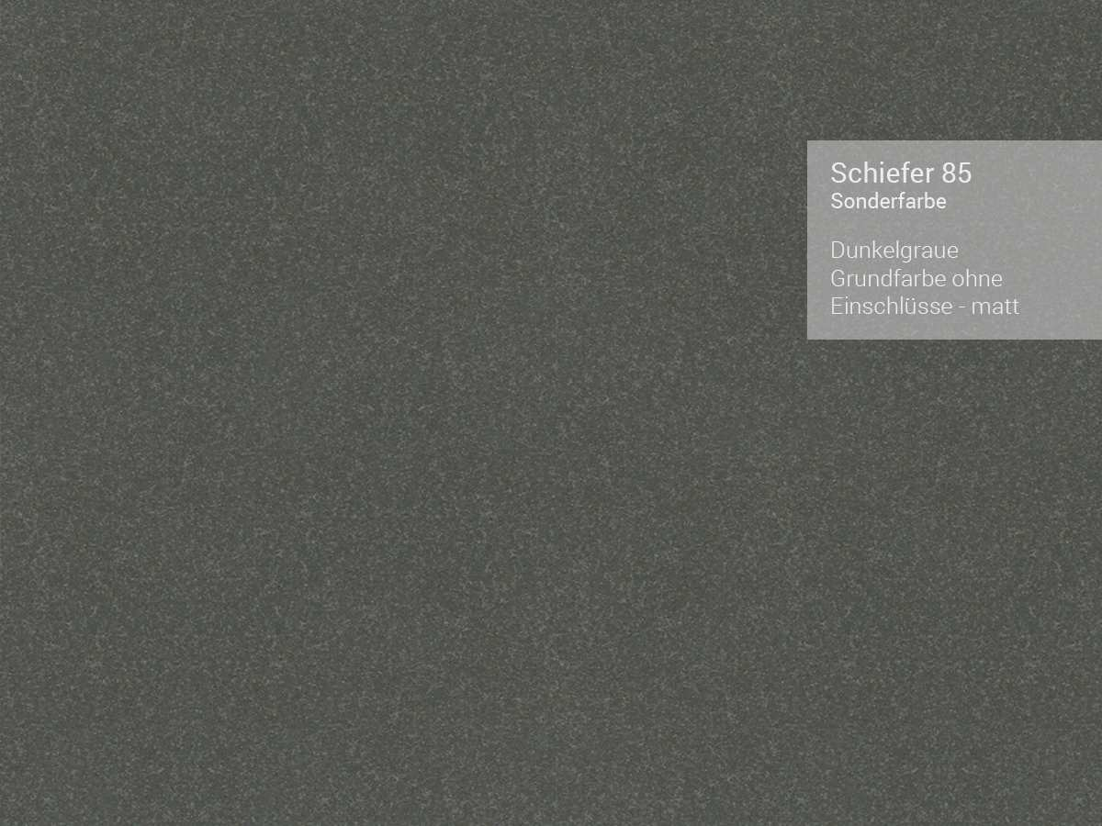 Systemceram Bela 100 Schiefer Keramikspüle Excenterbetätigung