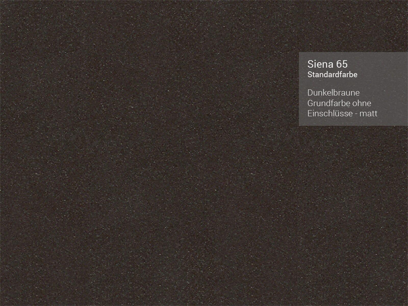 Systemceram Mera 51 Siena Keramikspüle Excenterbetätigung