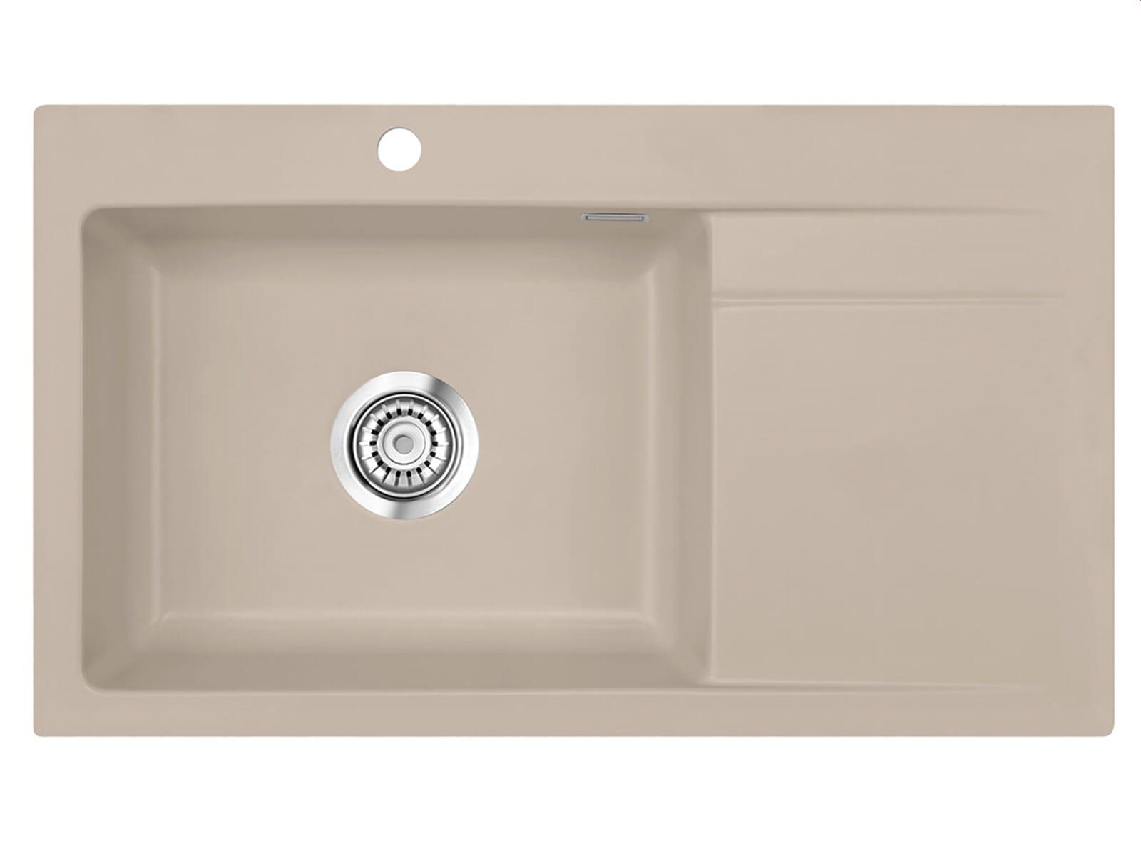Systemceram Stema 86 SL Fango Keramikspüle Handbetätigung