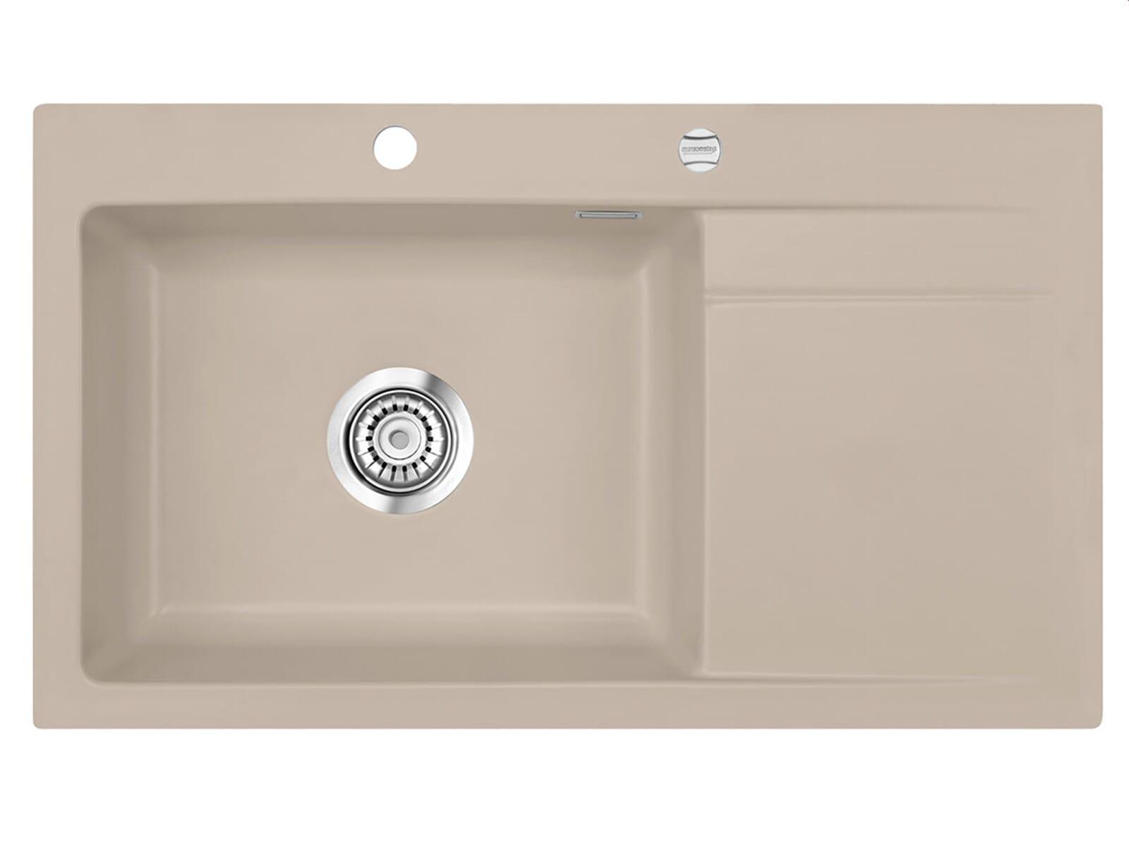 Systemceram Stema 86 SL Fango Keramikspüle Excenterbetätigung