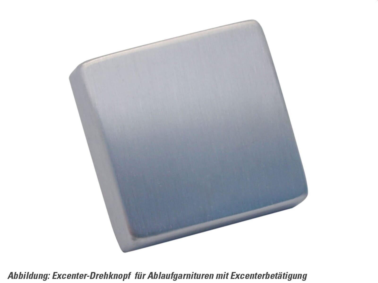 Produktabbildung Excenterbetätigung mit Drehgriff Edelstahl matt eckig