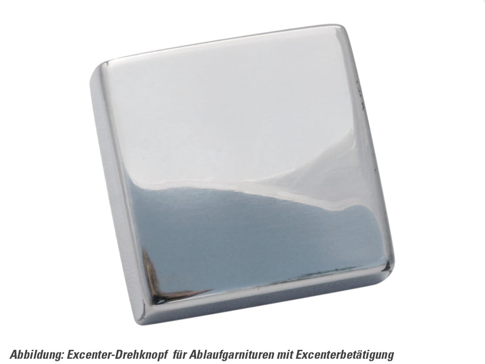 Produktabbildung Excenterbetätigung mit Drehgriff Edelstahl glänzend eckig