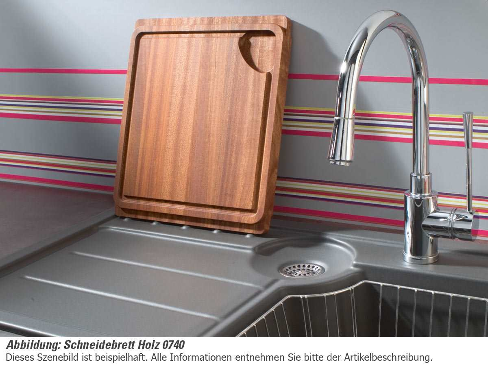 Systemceram Schneidebrett Holz 0740