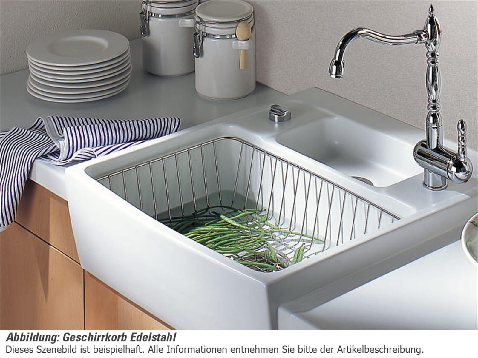 Systemceram Geschirrkorb Edelstahl 0811