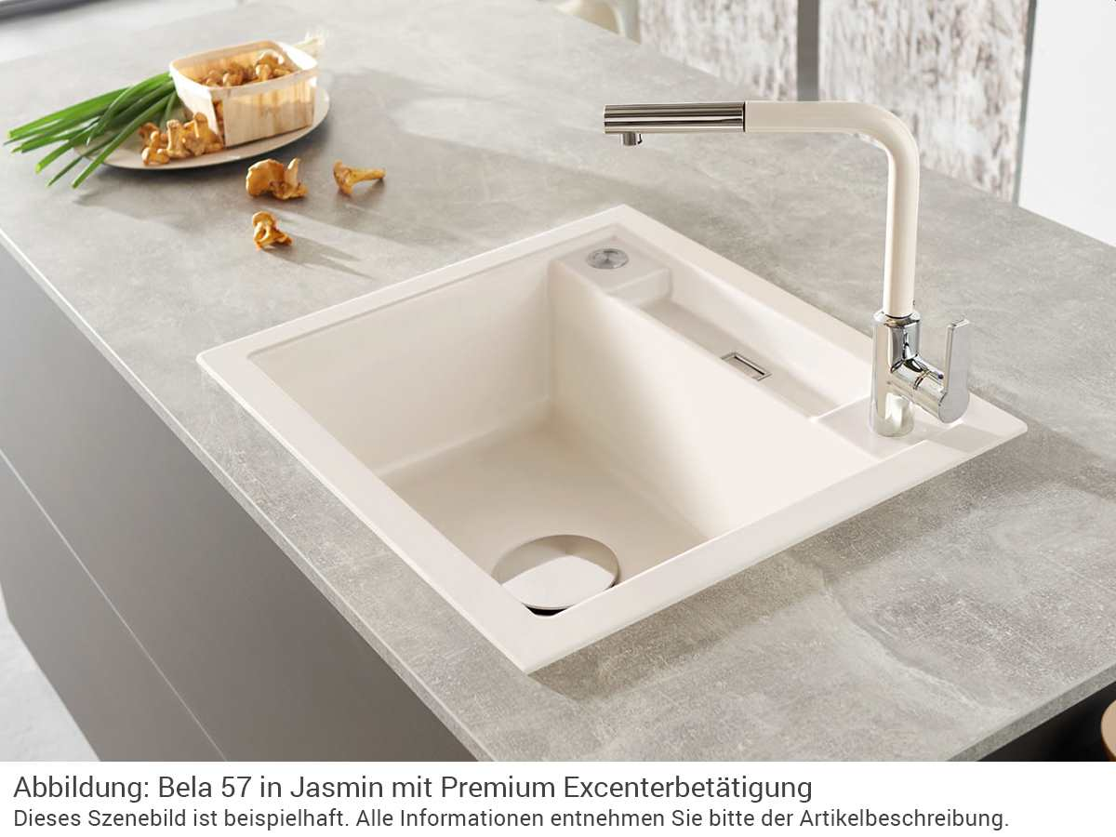 Systemceram Premium Excenterbetätigung Edelstahl 0871