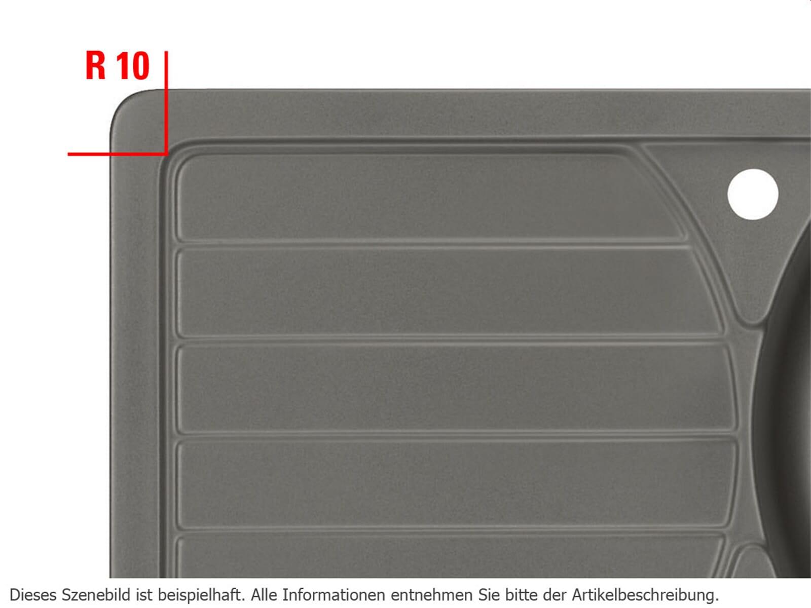 Systemceram Eckradien 4 x R10 - 9050