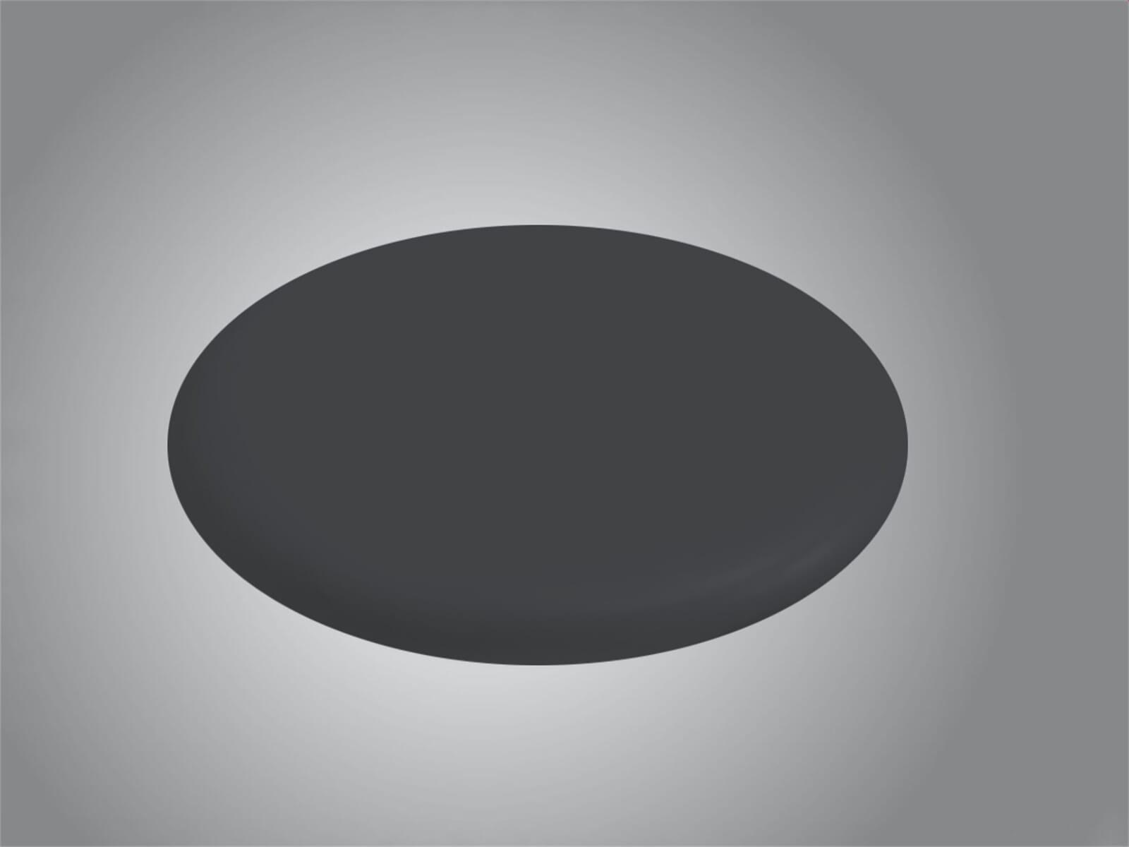 Systemceram Sink Cover Keramik Nigra 090687