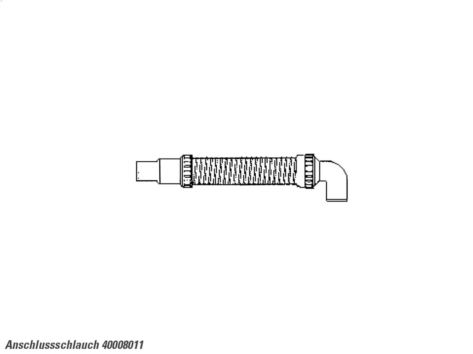 Teka Anschlussschlauch 40008011