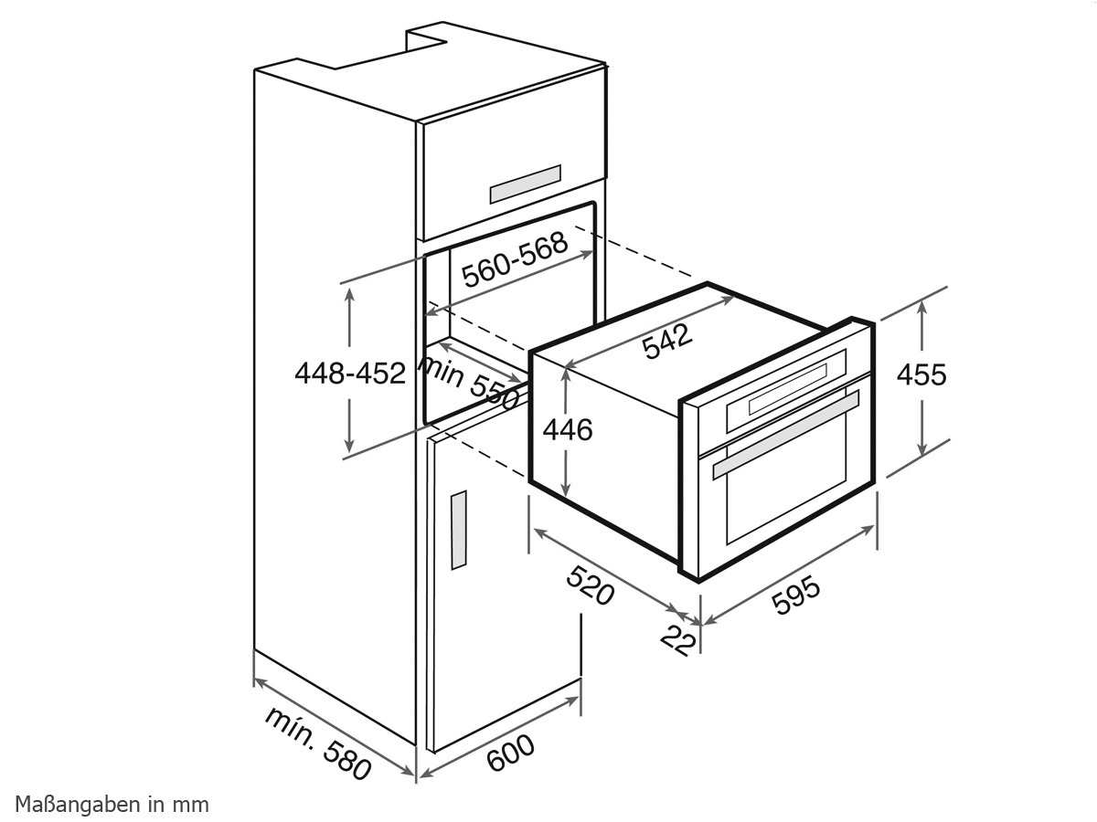 Teka HKL 970 SC Kompakt Dampfgarer Edelstahl