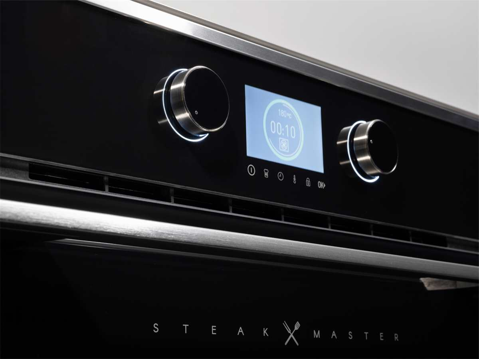 Teka SteakMaster Pyrolyse Backofen 700°C Power-Grill Schwarz