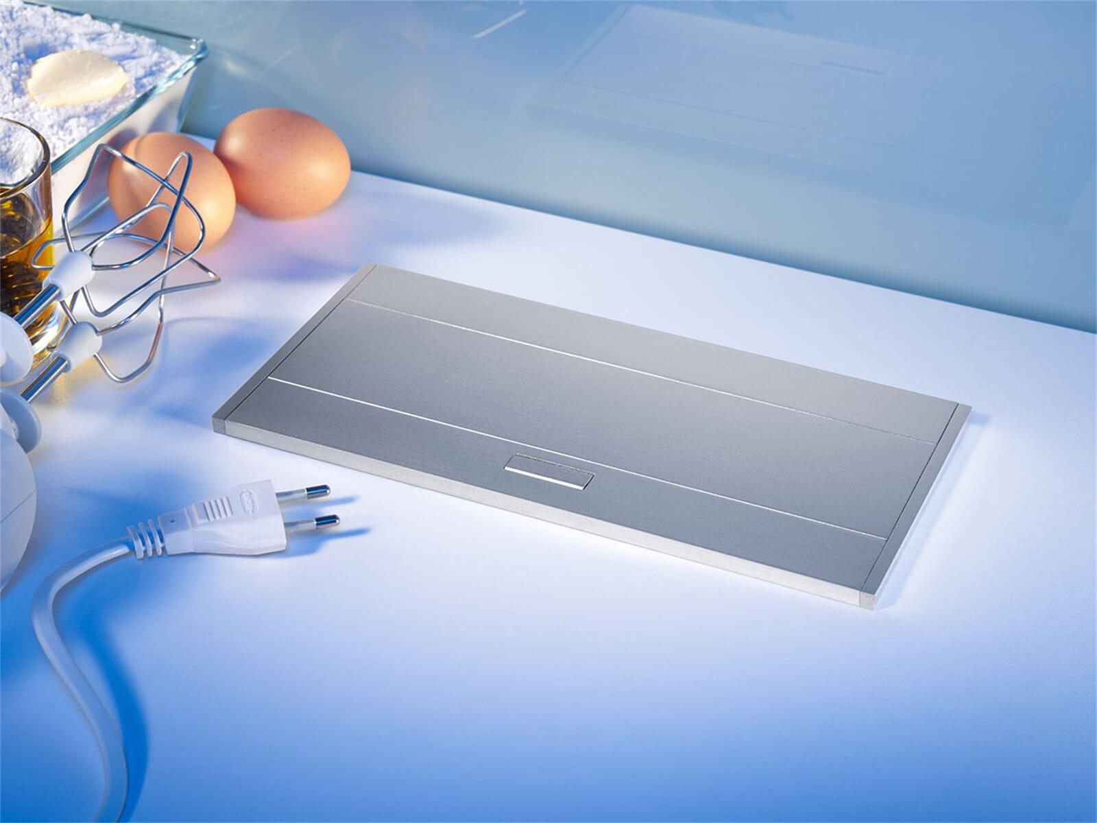Thebo APS 11 USB - 17116 Tischsteckdose Aluminium