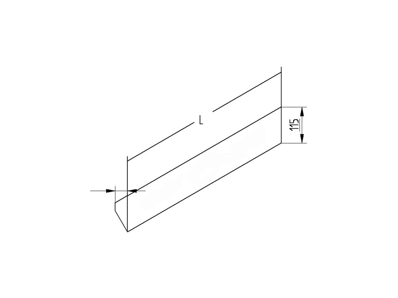 Thebo ST 3007/320 - 17587/320 Steckdosenelement Aluminium