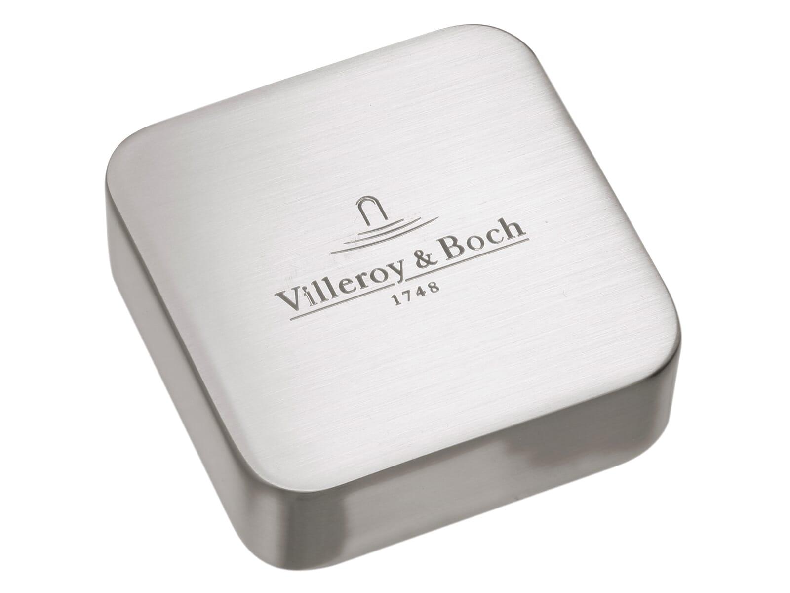 Villeroy & Boch 9405 36 L7 Abdeckkappe für Einzeldrehgriff gebürstet