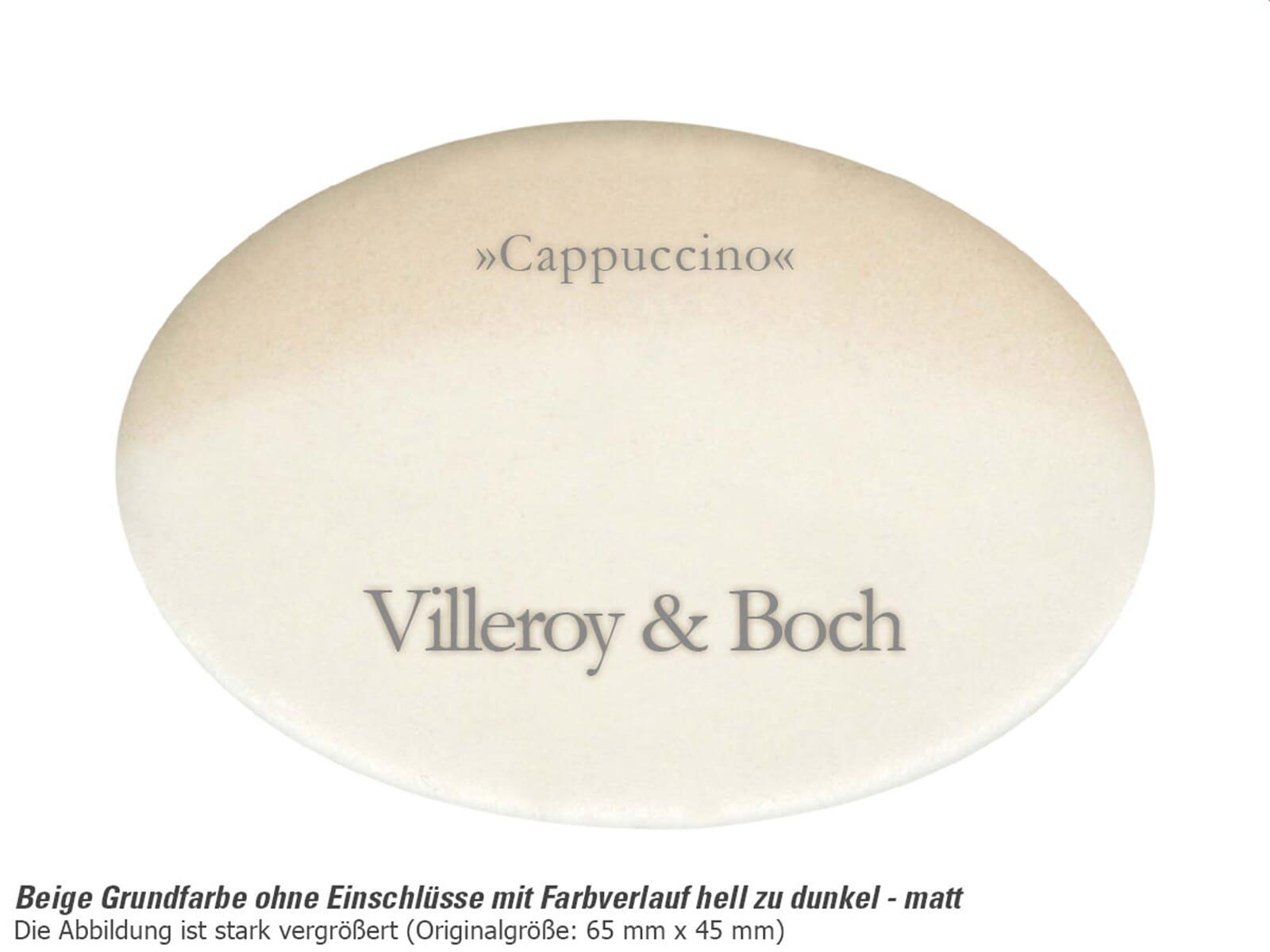 Villeroy & Boch Subway 80 Cappuccino - 6726 02 i2 Keramikspüle Exzenterbetätigung