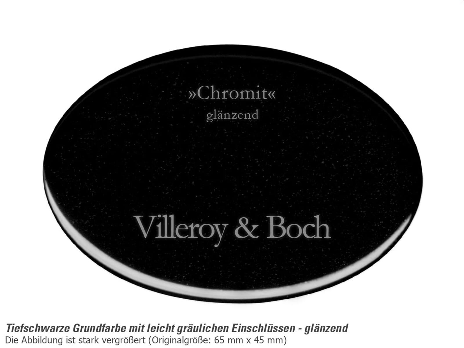Villeroy & Boch Timeline 50 Chromit - 3307 01 J0 Keramikspüle Handbetätigung