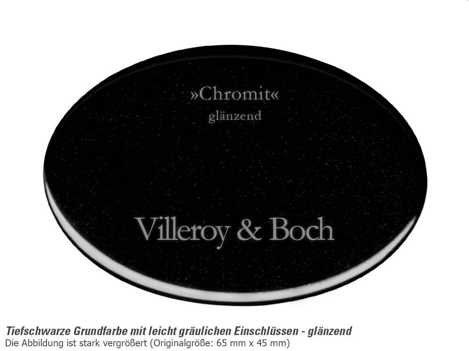 Villeroy & Boch Subway 80 Chromit - 6726 02 J0 Keramikspüle Exzenterbetätigung