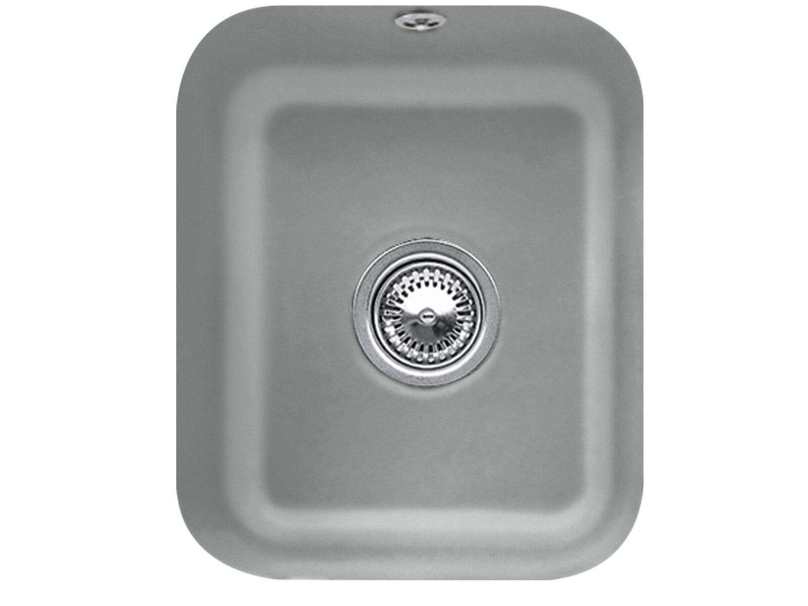 Villeroy & Boch Cisterna 45 Stone - 6704 01 SL Keramikspüle Handbetätigung