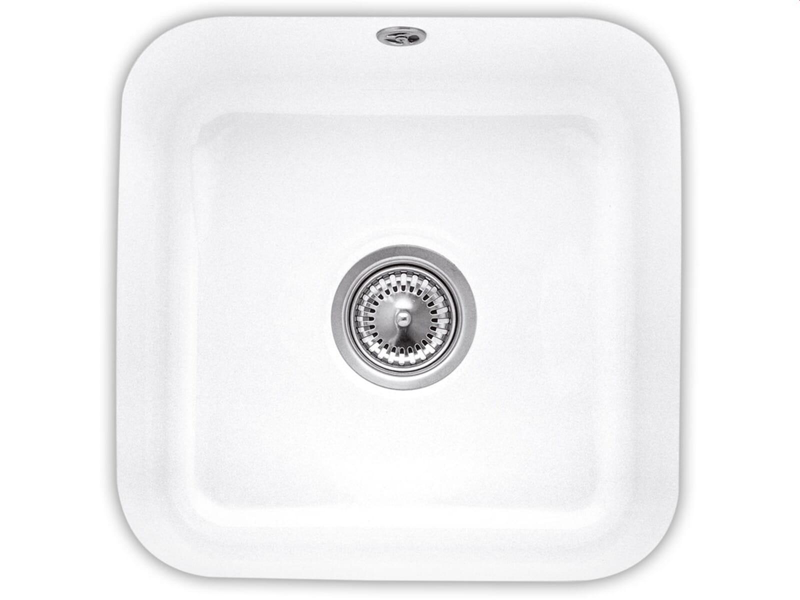 Villeroy & Boch Cisterna 50 Snow White - 6703 01 KG Keramikspüle Handbetätigung