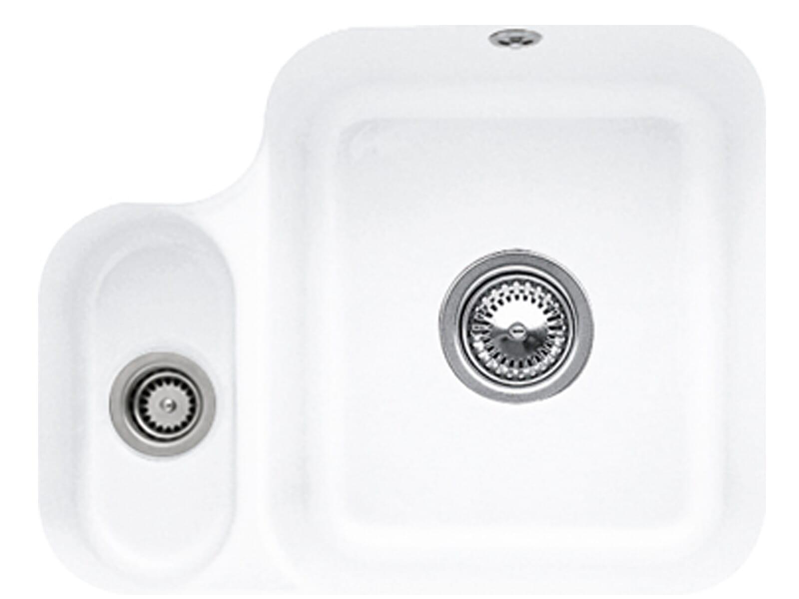 Villeroy & Boch Cisterna 60B Stone White - 6702 01 RW Keramikspüle Handbetätigung