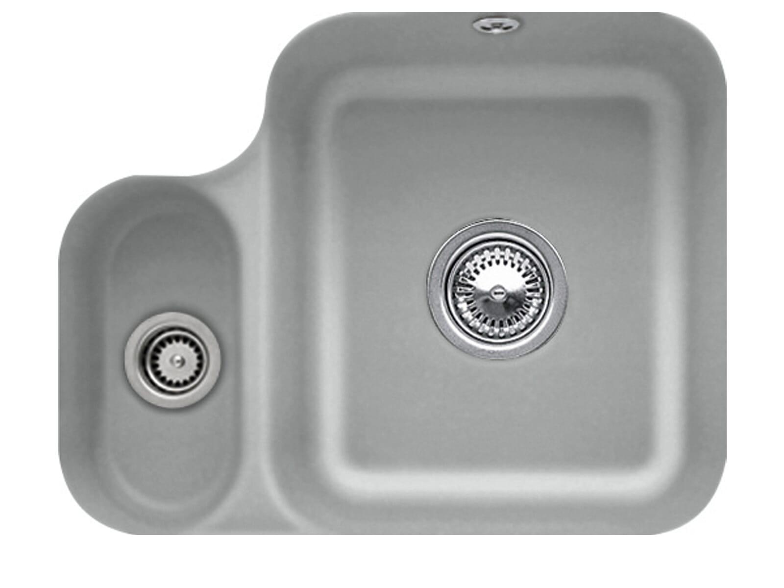Villeroy & Boch Cisterna 60B Stone - 6702 01 SL Keramikspüle Handbetätigung