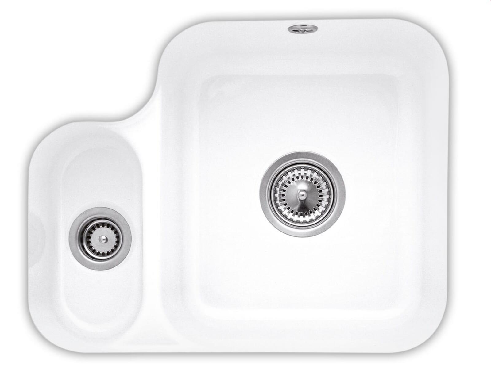 Villeroy & Boch Cisterna 60B Weiß (alpin) - 6702 01 R1 Keramikspüle Handbetätigung