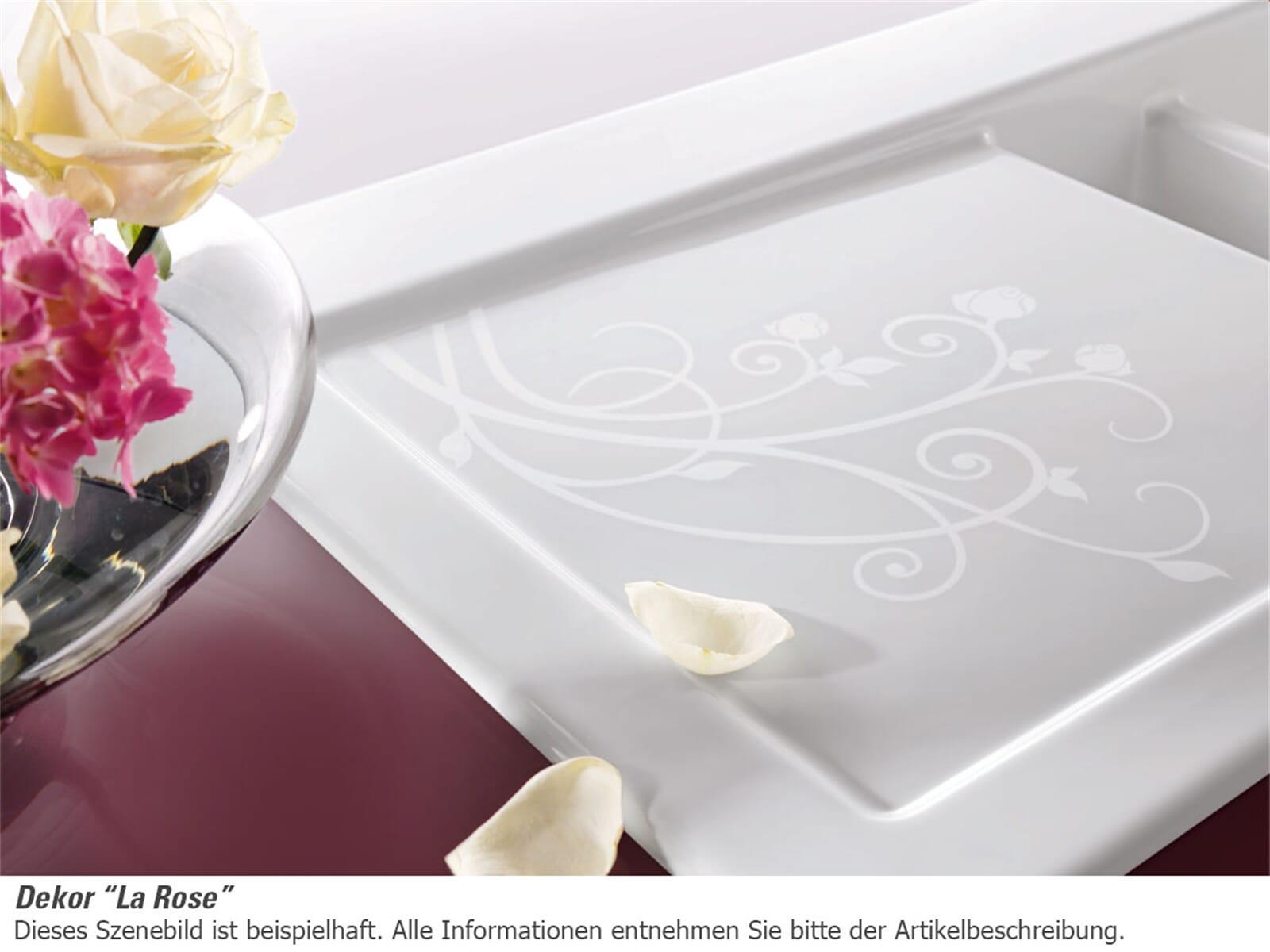 Villeroy & Boch Timeline 50 La Rose - 3307 01 KW Keramikspüle Handbetätigung
