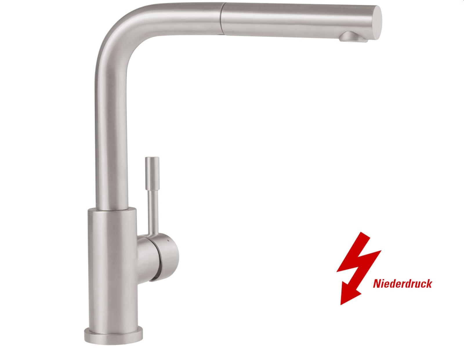 Villeroy & Boch Steel Shower Edelstahl massiv Niederdruckarmatur