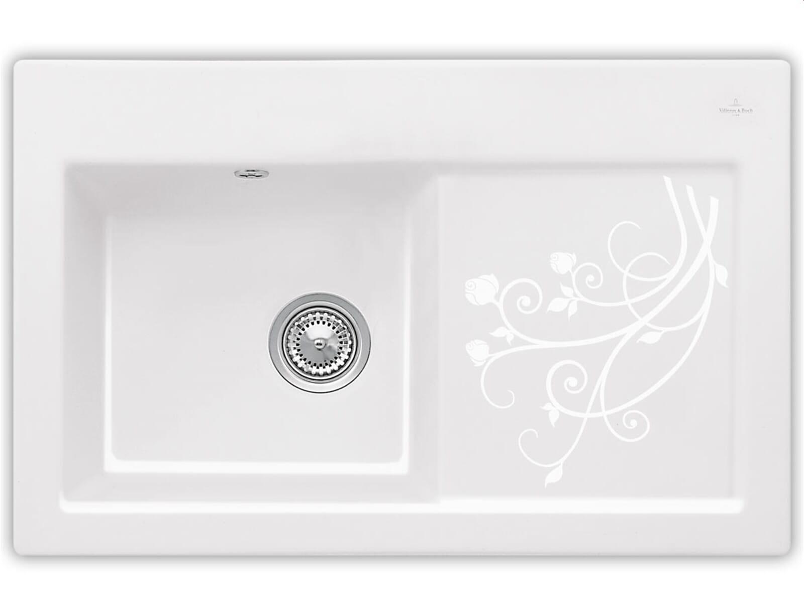 villeroy boch subway 45 la rose 6772 01 kw keramiksp le handbet tigung. Black Bedroom Furniture Sets. Home Design Ideas