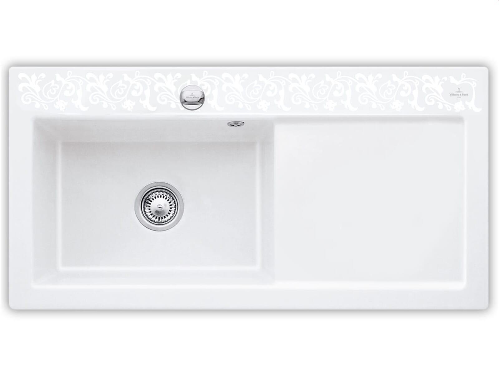 villeroy boch subway 60 xl white pearl 6718 02 kt. Black Bedroom Furniture Sets. Home Design Ideas
