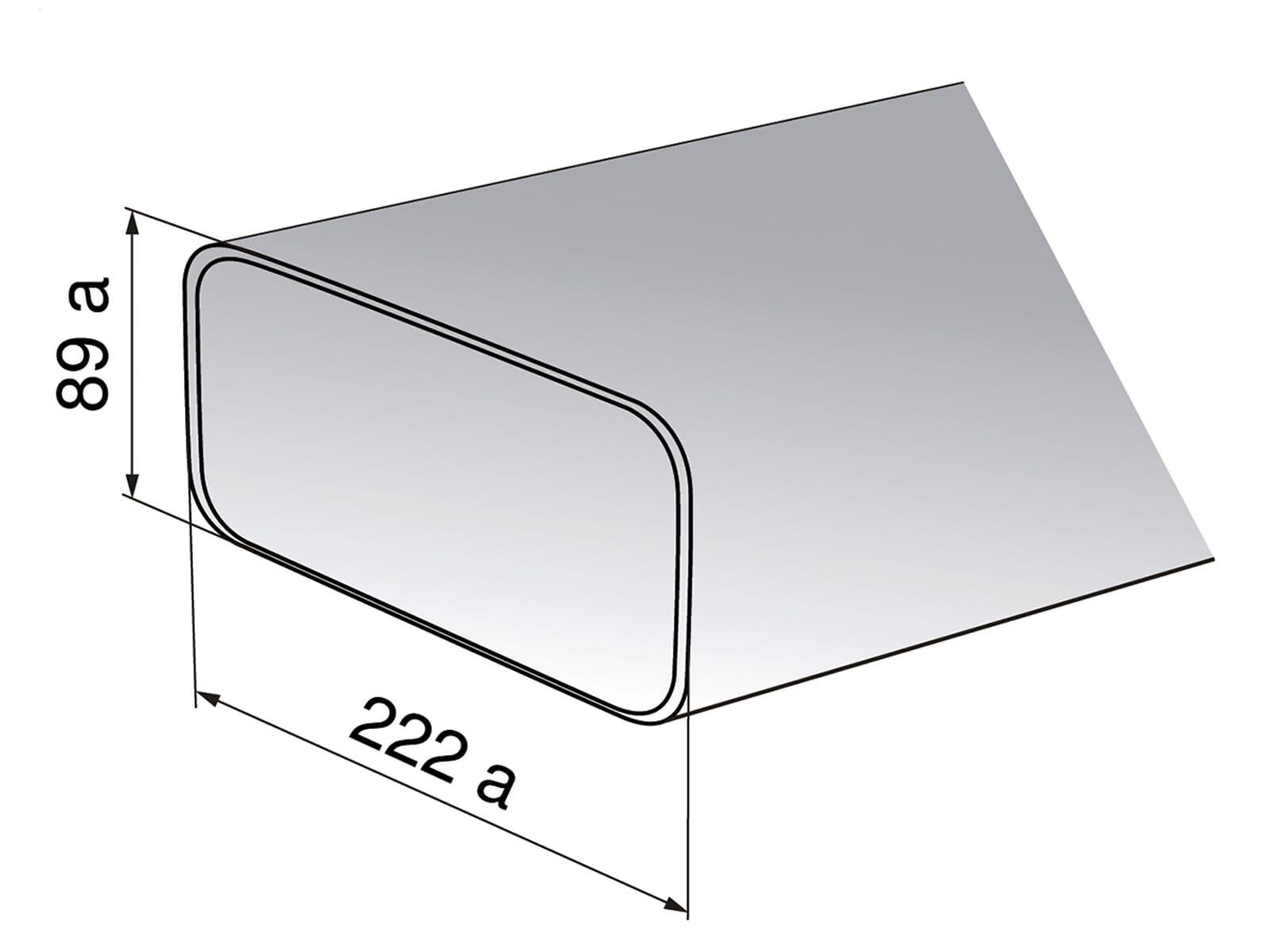 V-ZUG 1012780 Flachkanal