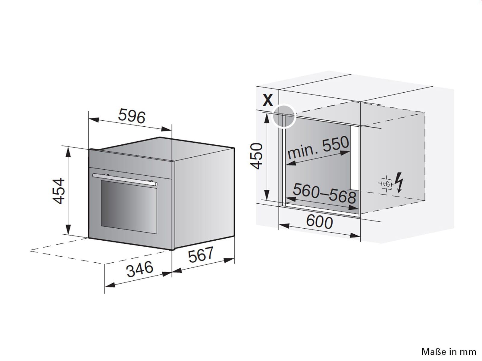 V-ZUG Combair XSLP Pyrolyse Kompakt Backofen ChromeClass