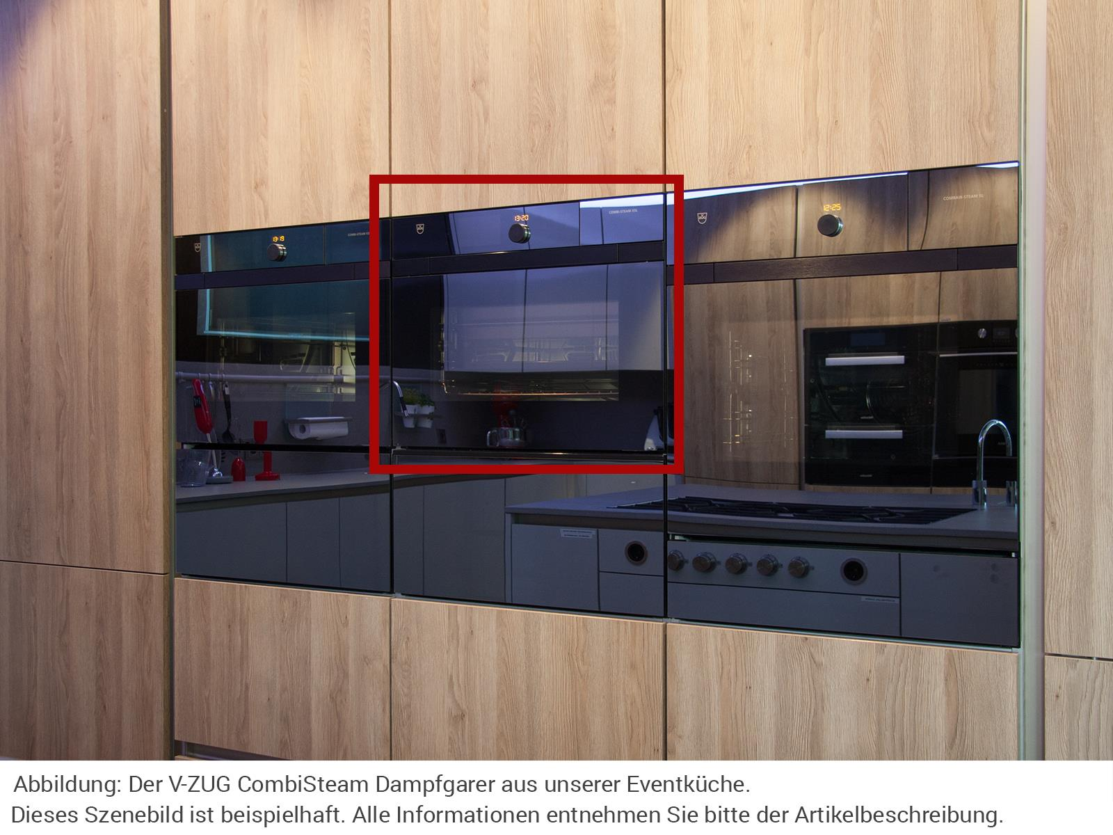 V-ZUG 2300860322 Combi-Steam XSLF Dampfgar Backofen Spiegelglas - Ausstellungsstück