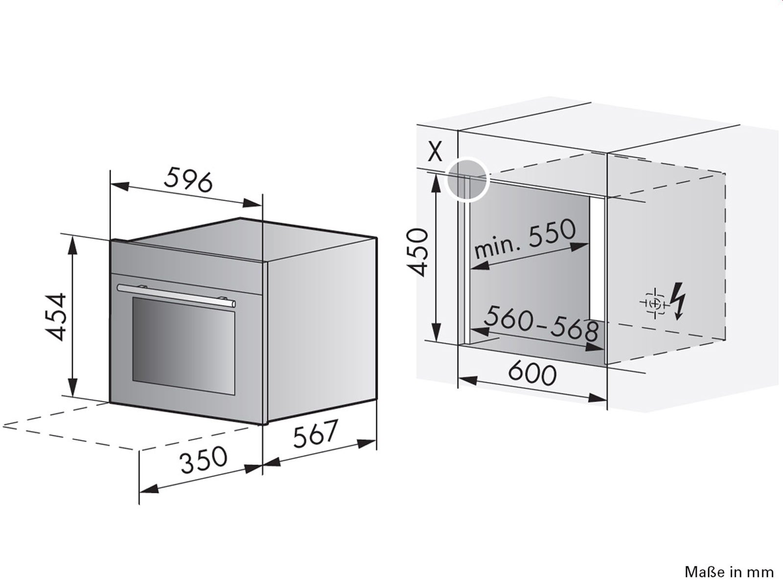 V-ZUG Miwell-Combi XSL Einbau-Mikrowelle ChromeClass