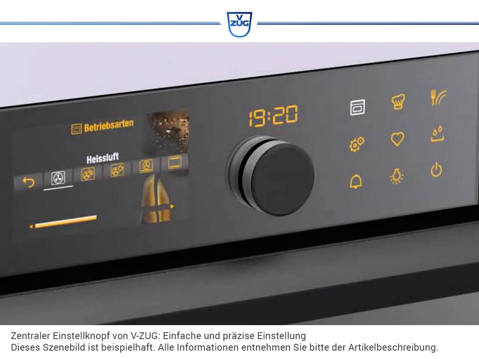 V-ZUG MWHSLZ60c Miwell HSL 60 Einbau-Mikrowelle mit Grill ChromeClass