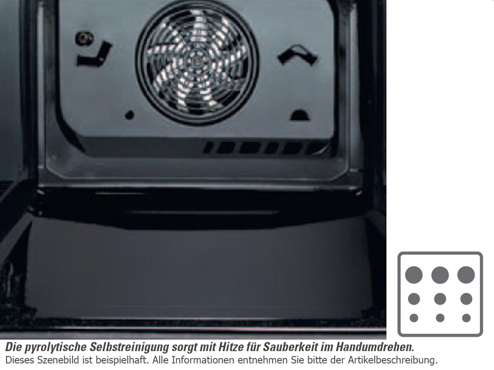 V-ZUG Combair XSEP Pyrolyse Kompakt Backofen ChromeClass