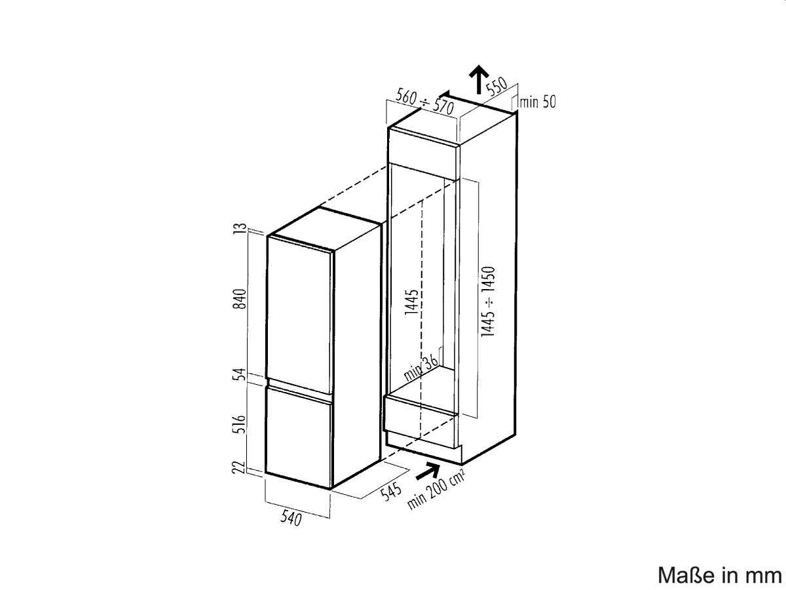 whirlpool arg 316 a einbau k hl gefrierkombination. Black Bedroom Furniture Sets. Home Design Ideas